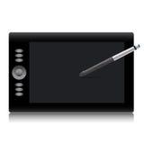 technologie de dessin de vecteur d'outil de souris de stylo Photos stock