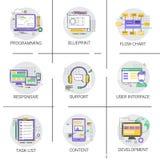 Technologie de dispositif de programmation par ordinateur de développement d'interface d'application logiciel Image libre de droits