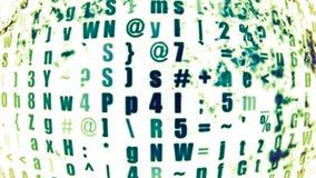 Technologie 0315 de données Photo libre de droits