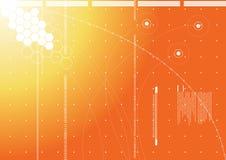 technologie de fond Image stock