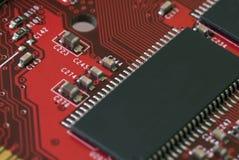 Technologie - de Kaart van de Grafiek Stock Foto