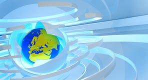 technologie de la terre Images libres de droits