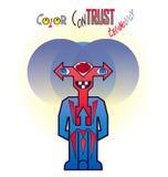 Technologie de monstre de couleur Images libres de droits
