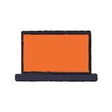 Technologie de PC d'ordinateur portable Images libres de droits