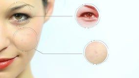 Technologie de peau banque de vidéos