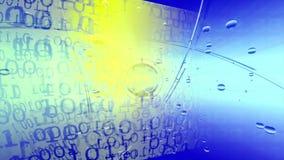 technologie de planète de téléphone de la terre de code binaire de fond Code binaire Résumé Big Data