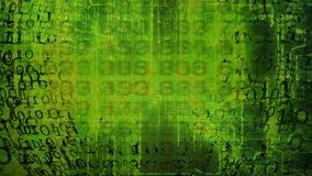 technologie de planète de téléphone de la terre de code binaire de fond Code binaire Résumé Big Data illustration stock