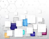 Technologie de pointe abstraite comme fond illustration de vecteur
