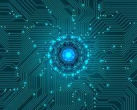 Technologie de pointe abstraite comme fond illustration libre de droits