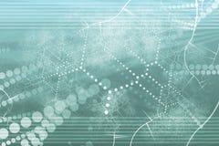 technologie de réseau industrielle abstraite illustration libre de droits