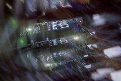 Technologie de télécommunications d'Internet, stockage de Big Data, concept d'entreprise de services d'ordinateur de Cloud Comput illustration de vecteur