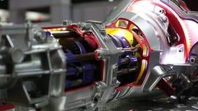 Technologie de transmission des véhicules à moteur de voiture banque de vidéos