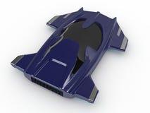 Technologie de voiture de la voiture H3 de vol plané de concept images stock