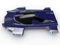 Technologie de voiture de la voiture H3 de vol plané de concept photos stock