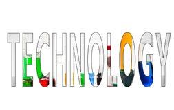Technologie de Word photo stock