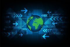 Technologie der zukünftigen Welt Lizenzfreies Stockbild