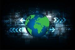 Technologie der zukünftigen Welt Stockbilder