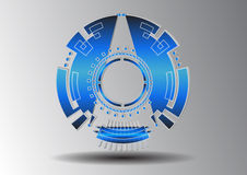 Technologie des abstrakten Symbols Lizenzfreies Stockfoto