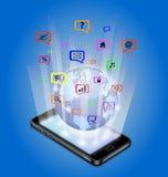 Technologie des communications illustration libre de droits