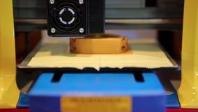 Technologie des Druckers 3D stock video