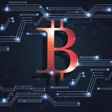 Technologie Digitale Crypto Munt Stock Afbeelding