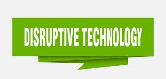 technologie disruptive illustration stock