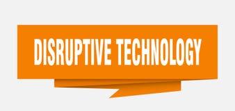 technologie disruptive illustration de vecteur
