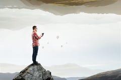 Technologie dla związku i komunikaci Zdjęcia Stock