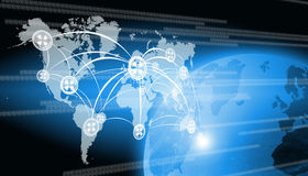 Technologie du monde Images stock
