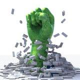 Technologie-Durchbruch Lizenzfreies Stockbild