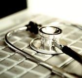 Technologie en Gezondheid Stock Afbeelding