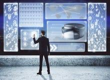 Technologie en infograph concept Royalty-vrije Stock Fotografie