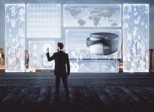 technologie en innovatieconcept Royalty-vrije Stock Afbeelding