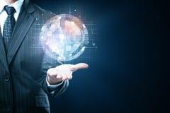 technologie en innovatieconcept Stock Afbeeldingen