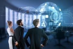 technologie en innovatieconcept Royalty-vrije Stock Afbeeldingen