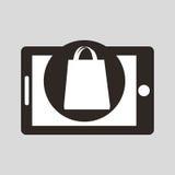 technologie en ligne d'affaires d'achat de commerce électronique images stock