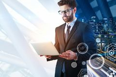 Technologie en media concept Royalty-vrije Stock Foto