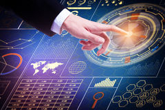 Technologie en media concept Royalty-vrije Stock Afbeelding