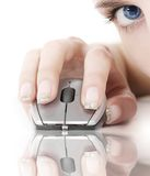 Technologie en oog Royalty-vrije Stock Fotografie