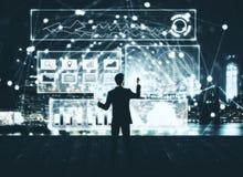 Technologie en toekomstig concept royalty-vrije stock foto's