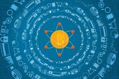 Technologie et concept financiers d'investissement productif Photos libres de droits