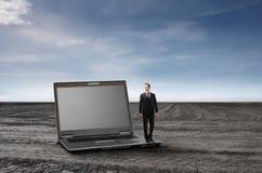 Technologie für Geschäft stockfoto