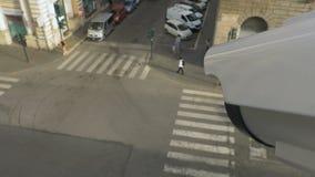Technologie faciale moderne de reconnaissance banque de vidéos