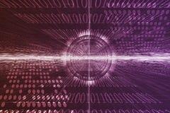 technologie futuriste abstraite illustration stock