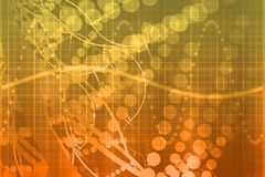 technologie futuriste abstraite de la science médicale Photographie stock libre de droits