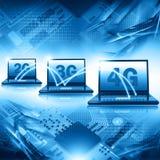 Technologie 4G sans fil Images libres de droits