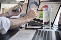 Technologie gebräuchlich Lizenzfreie Stockfotos