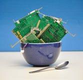 Technologie-Gefahr Lizenzfreie Stockbilder