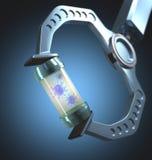 Technologie gegen Virenkrankheiten Stockfotografie