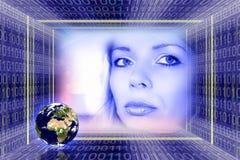 Technologie global de l'information Photographie stock libre de droits
